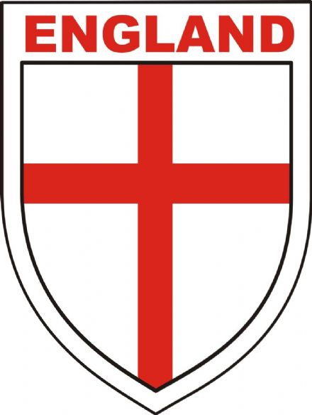 "England ""Shield"" Car Bumper Sticker"